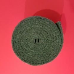 Rouleau abrasif vert