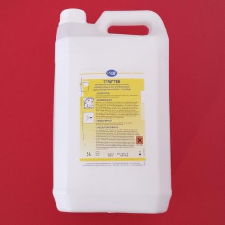 Liquide pour spray désinfectant