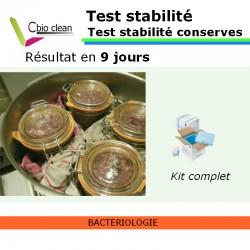 Test de stabilite conserve