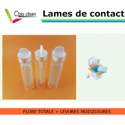 Lame contact flore totale et levures/moisissures
