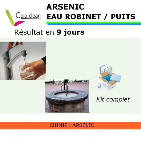 kit d 39 analyse arsenic dans l 39 eau. Black Bedroom Furniture Sets. Home Design Ideas