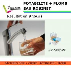 Kit eau robinet potabilité avec plomb