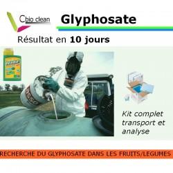 Kit recherche de glyphosate dans les aliments