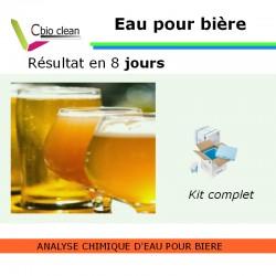 Kit analyse d'eau pour Bière