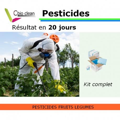 Kit eau pesticides fruits legumes