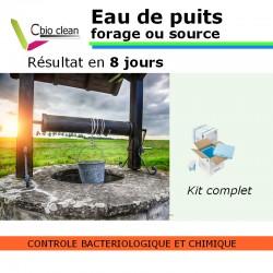 Kit eau puit ou forage potabilité