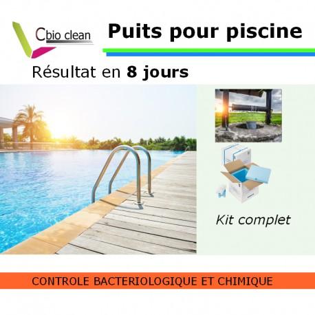 Kit analyse eau puits pour piscine