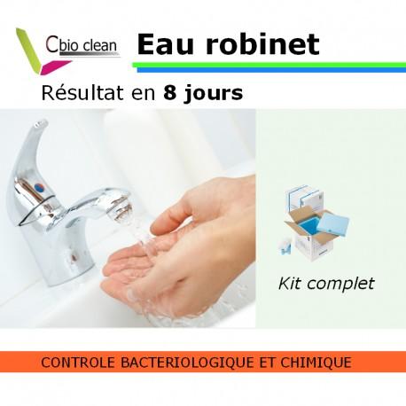 Analyse d'eau du robinet