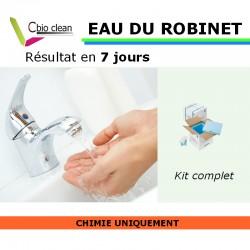 Kit chimie eau robinet