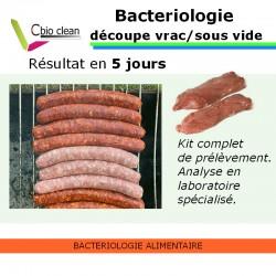 Kit bacteriologie alimentaire découpe