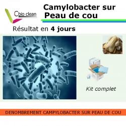 Kit Dénombrement des Campylobacter sur peau de cou