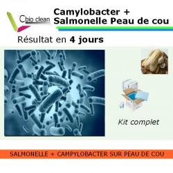 Kit salmonelle avec campylobacter