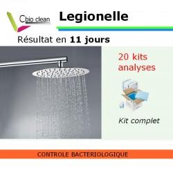Kit d'eau Legionelle