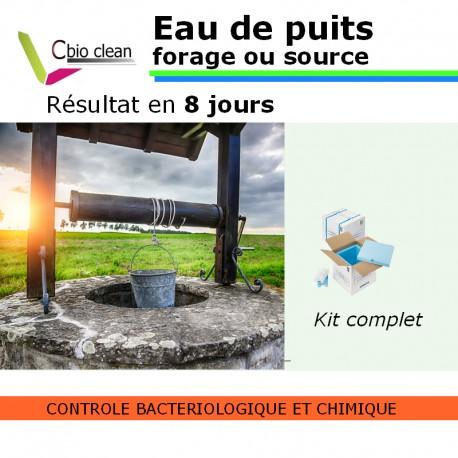 Kit eau puit ou forage potabilité avec manganèse
