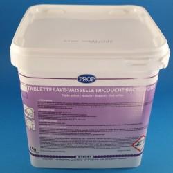 Tablette lave vaisselle triple couche bactéricide 3Kg.